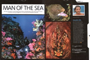 pagina interna di Asian Diver